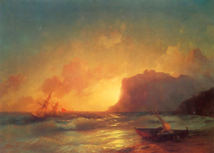 айвазовский картины моря: