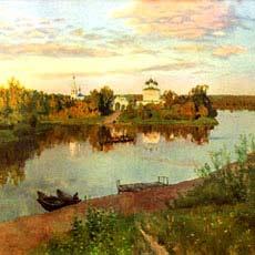 И левитан вечерний звон 1892 г