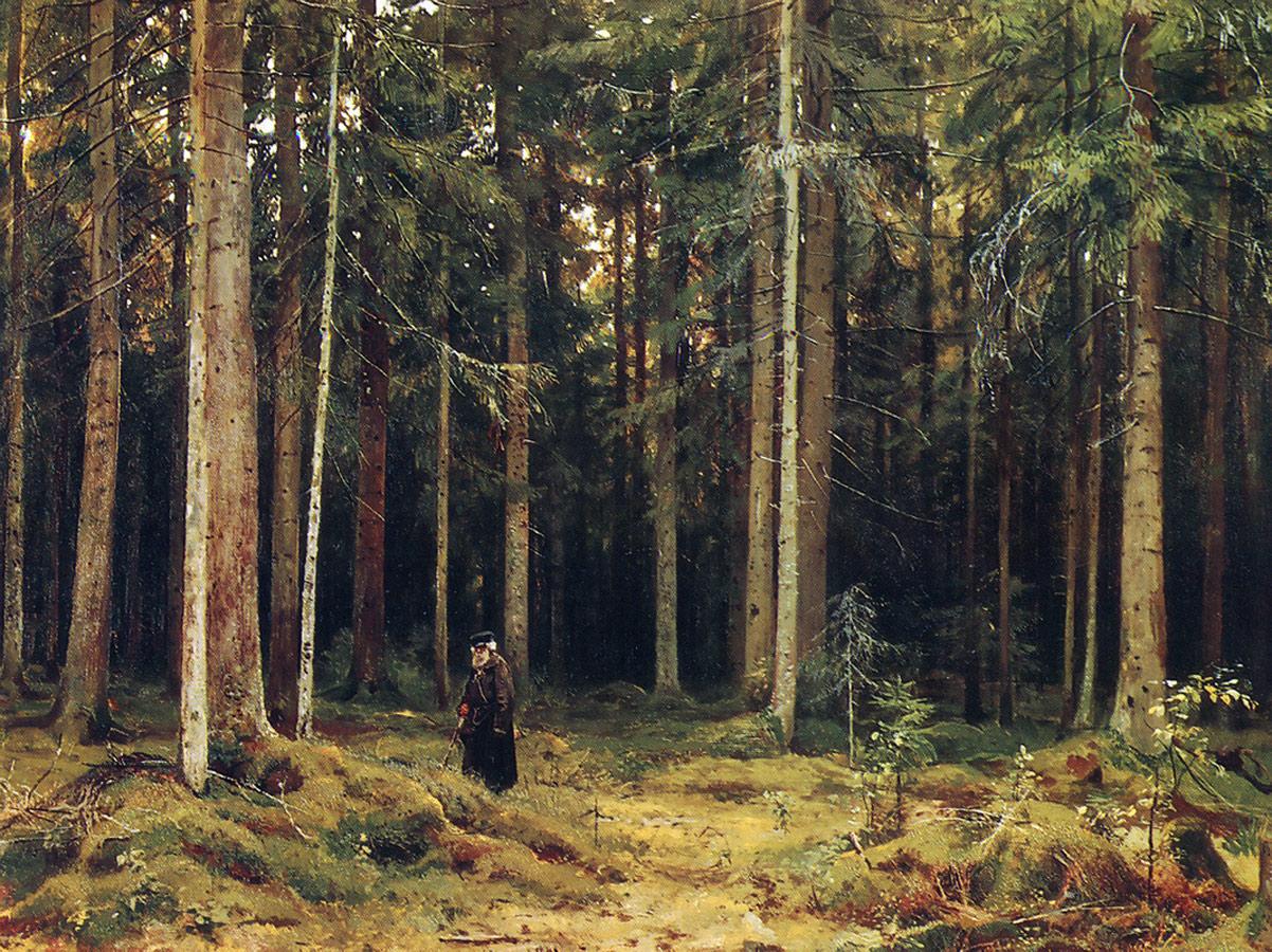 Сочинение в лесу графини мордвиновой 3 класс d rjynfrnt