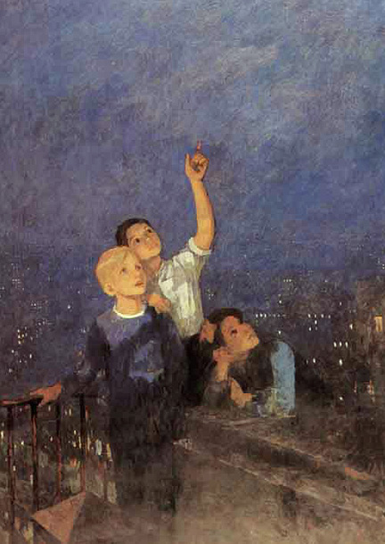 известный украинский художник и описание его картины: