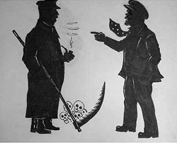 Compare contracts lenin and stalin. Graphics people silhouettes