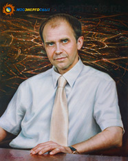 Portrait of General Manager Peter A. Sinyutin