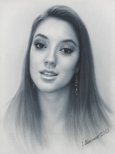 JuicyStar07 BLAIR PORTRAIT DRAWING