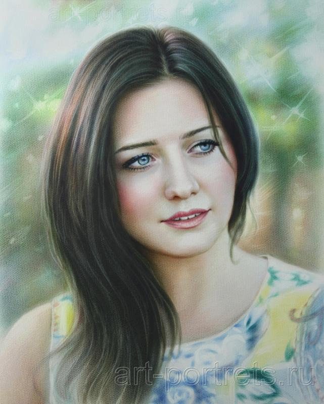 ... Beautiful girl portrait lyrics ...