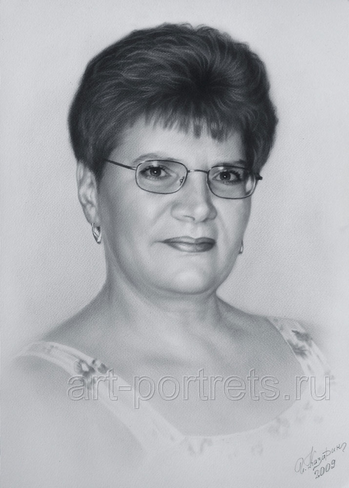 Black and white drawings of women · portrait