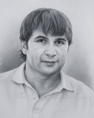 Drawing of men black and white portrait drawings