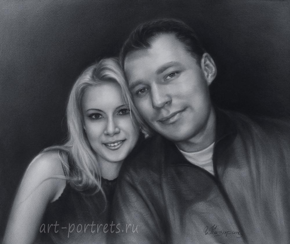 Картинки нарисованные парни и девушки