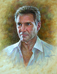 Harrison Ford Portrait painting