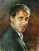 Adriano Celentano, Portrait Paintings of famous people