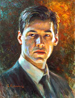 Keanu Reeves Painting of famous people