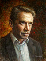Vladimir Mashkov, Oil Painting Portraits of famous people of Russia