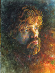 Peter Dinklage, Tyrion Lannister painting