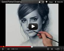 Портрет видео Эмма Уотсон