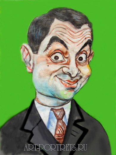 Mr bean animation cartoon. Rowan atkinson as mr Bean