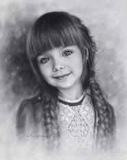 Drawing of a Little Girl