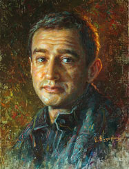 Konstantin Khabensky Painting. Russian actor
