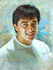 Jackie Chan Celebrity Paintings