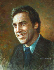 Vladimir Vysotsky Oil Painting Portrait