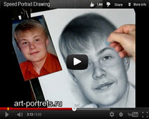 Drawing of a boy video